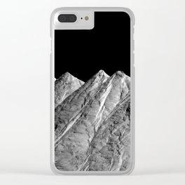 Salt Mountains Clear iPhone Case
