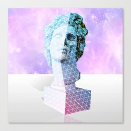 Vaporwave Aesthetics Canvas Print