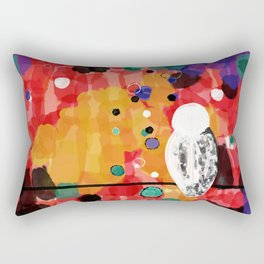 Mindful Birdie Rectangular Pillow