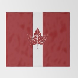 Cool Canada Souvenirs Throw Blanket