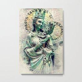 Trapani art 26 Sicilia Metal Print