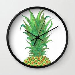 Geometric Pineapple Wall Clock