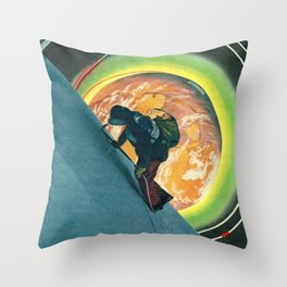 Punto di atterraggio Throw Pillow