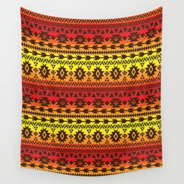 bright ethnic ornament Wall Tapestry