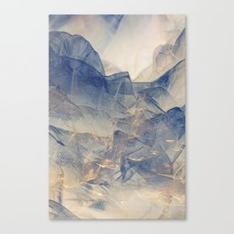 Tulle Mountains Canvas Print