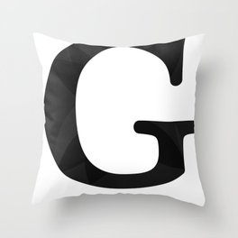 G style Throw Pillow