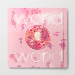 Mystic world Metal Print