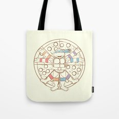 Vitruvian Turtle Tote Bag