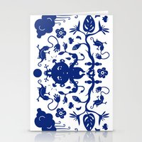 jungle Stationery Cards featuring JUNGLE by RUEI