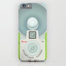 VINTAGE CAMERA GREEN Slim Case iPhone 6s