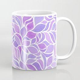Press of Leaves - Lilac Coffee Mug