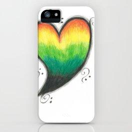 Irie Heart iPhone Case