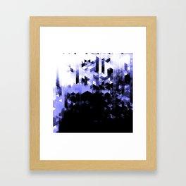 Blasted 03 Framed Art Print