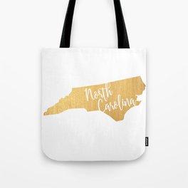 North Carolina gold Tote Bag