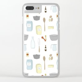 Let Them Make Cake Clear iPhone Case