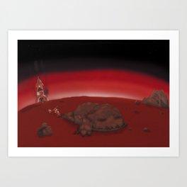 Nero Svenfor: Conquest of the planet Astrasuri-3 Art Print