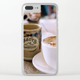 Macy's Coffehouse Clear iPhone Case