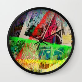 Ink the Page Wall Clock