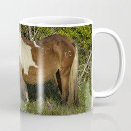 Chincoteague Foal No. 1 with Mother Coffee Mug
