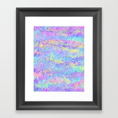 Four Colors Framed Art Print
