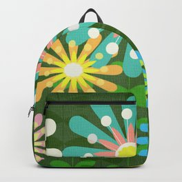 In The Garden Among The Flowers Backpack