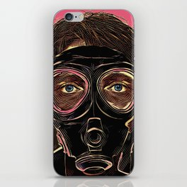 INFERNO MASK DOWNFALL iPhone Skin