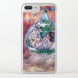 I Choose Love Clear iPhone Case
