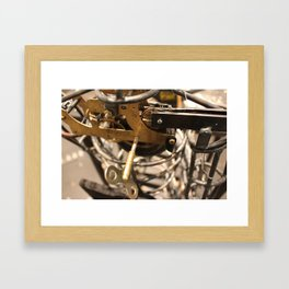 Wind-up Heart Framed Art Print