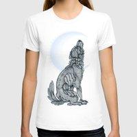lunar T-shirts featuring Lunar by MacGreen