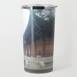 Travel to the city of Seoul South Korea Travel Mug