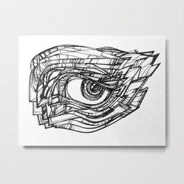 All eyez on Me Metal Print