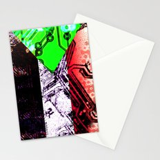 sudan circuit board (flag)  Stationery Cards