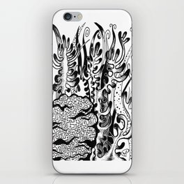 coral corral iPhone Skin