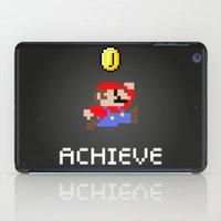 super mario iPad Cases featuring Mario by eARTh