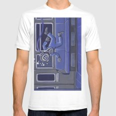 Subway Bends Mens Fitted Tee White MEDIUM