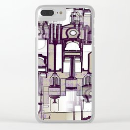 Architectural Engineering 3 Clear iPhone Case