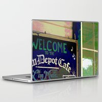 cafe Laptop & iPad Skins featuring Cafe by Glenn Designs