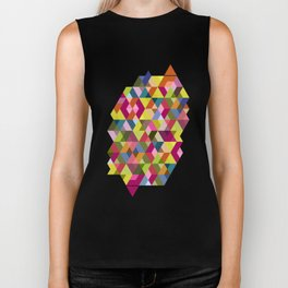 Platonic triangles Biker Tank