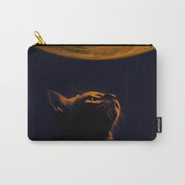 Cat on Mars Carry-All Pouch