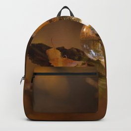 Colors of autumn in the deciduous forest Backpack