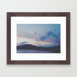 blues. Framed Art Print