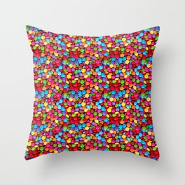A Handful of Candy Throw Pillow