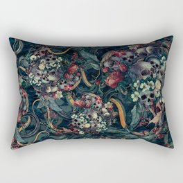 Skulls and Snakes Rectangular Pillow