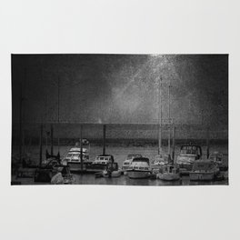 Harbour of Neuharlingersiel lower saxony Germany Rug