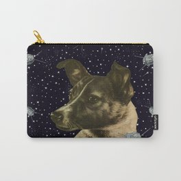 Gagarin space art #2 - Laika Carry-All Pouch