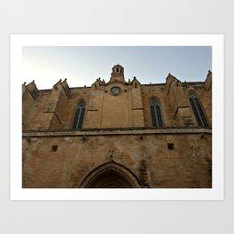 Historic Spanish Church Art Print
