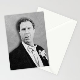 Will Ferrell Movies Old School Stationery Cards