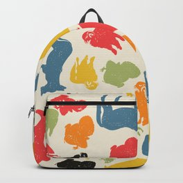 Farm animals seamless pattern Backpack