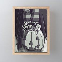 Pumpkin Loot Framed Mini Art Print