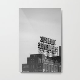 Farine Five Roses - Noir et blanc Metal Print